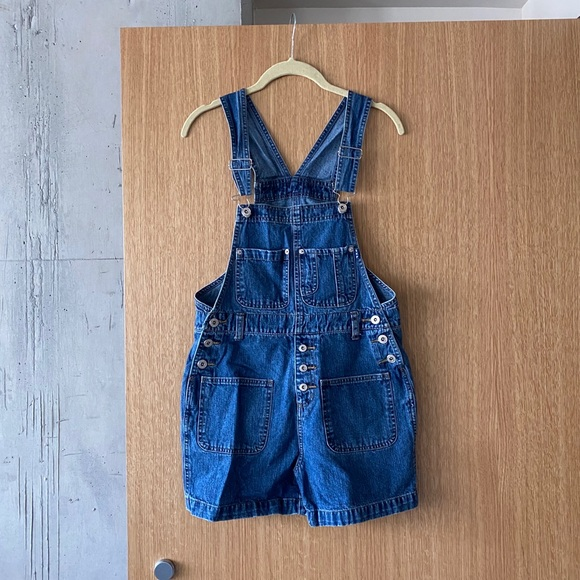Express Vintage Jeans Overalls size XS